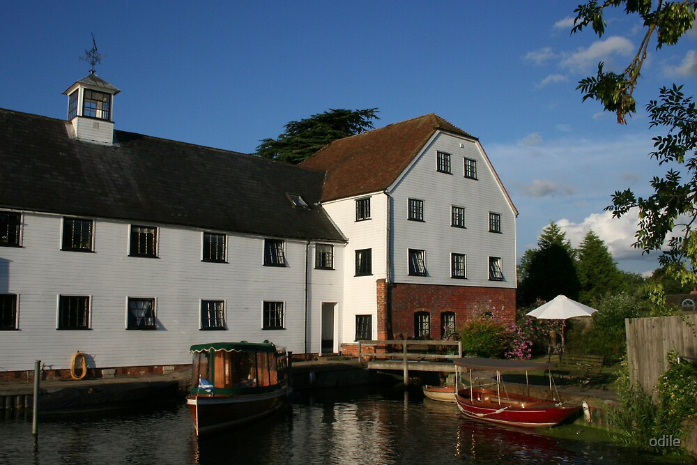 old mill river Thames by odile