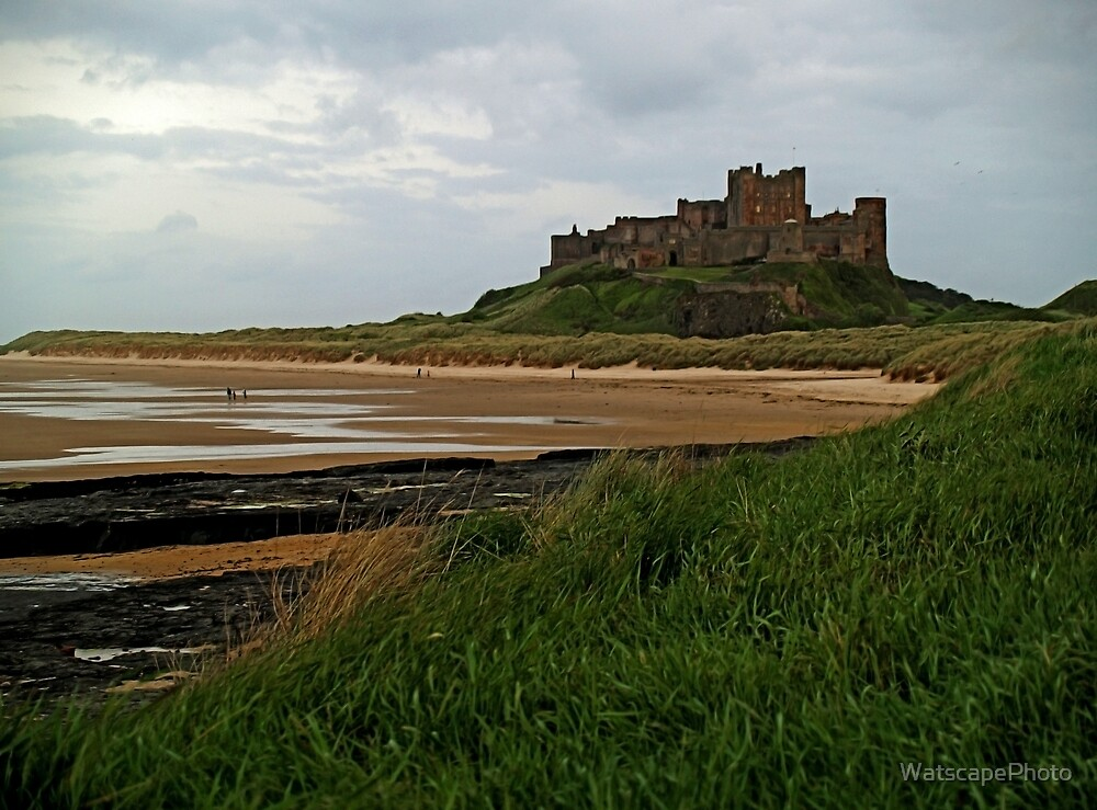 Bamburgh Castle by WatscapePhoto