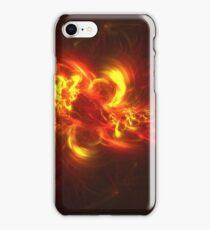 Fractal Flame Explosion iPhone Case/Skin