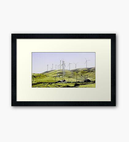 WindFarm Framed Print