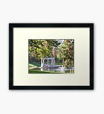 Saratoga NY Framed Print