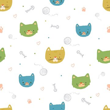 Cats - Pattern by julianamotzko