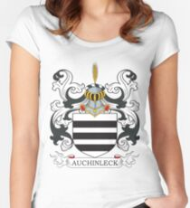 Affleck Coat of Arms Women's Fitted Scoop T-Shirt