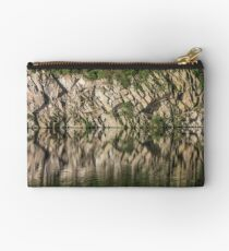 Cliff Reflections in Water - Waterscape Studio Pouch