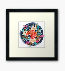 Flora & Fox Framed Print