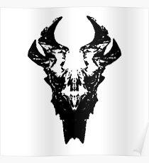 Elder Dragon Skull Poster