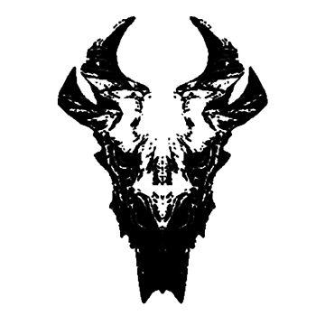 Elder Dragon Skull by spartan4279