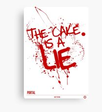 The Cake. (K) Canvas Print