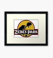 Zebes Park Framed Print