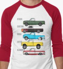 69-72 Chevy C-10 purpose Men's Baseball ¾ T-Shirt