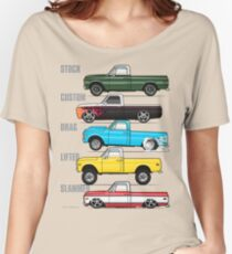 69-72 Chevy C-10 purpose Women's Relaxed Fit T-Shirt