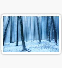 Winter Forest 1 Sticker