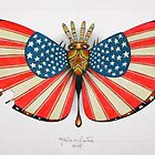 patriot moth - original sold by federico cortese