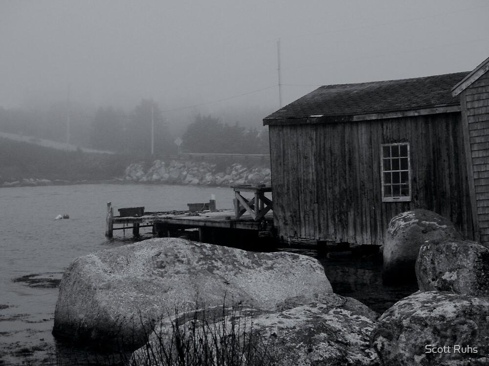 The Fishing Shack by Scott Ruhs