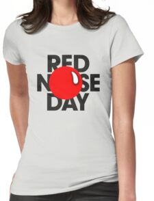 red nose day ! Womens Fitted T-Shirt