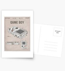 Gameboy Patent Postcards