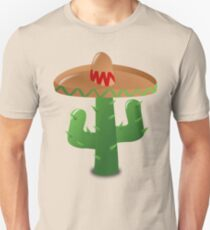 ¡Viva México! - Cactus Sombrero Unisex T-Shirt