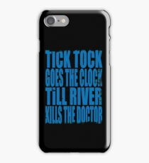 Death of the Doctor iPhone Case/Skin