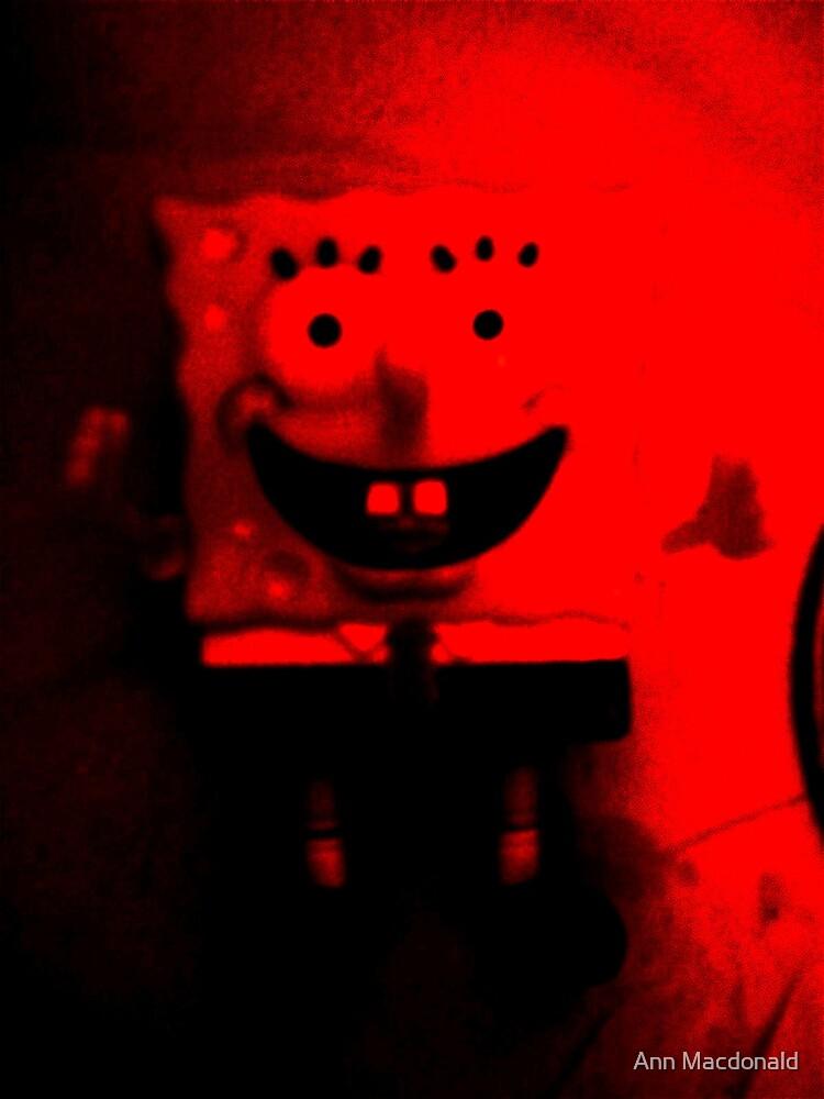 Devilish sponge bobs by Ann Macdonald