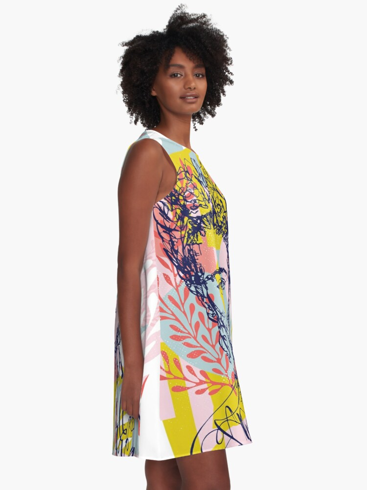 Alternate view of Fierce like Frida A-Line Dress