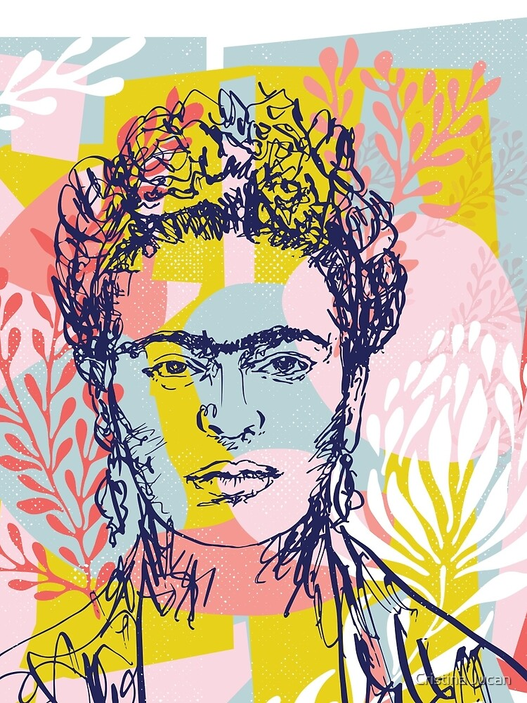 Fierce like Frida by cristinajucan