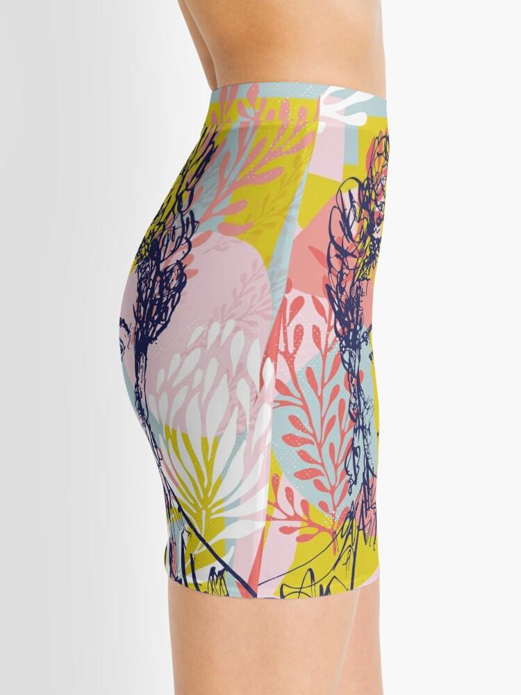 Alternate view of Fierce like Frida Mini Skirt