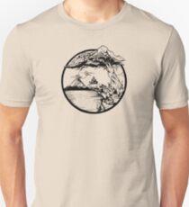 Meditation Zen Red Unisex T-Shirt