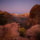Canyon Overlook Twilight by Nick Johnson