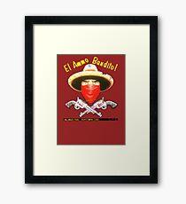El Ammo Bandito! Framed Print