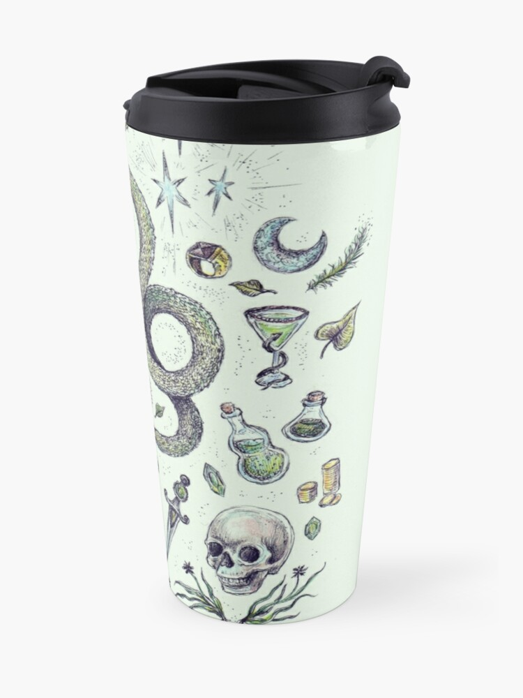 Alternate view of Those Cunning Folk Travel Mug