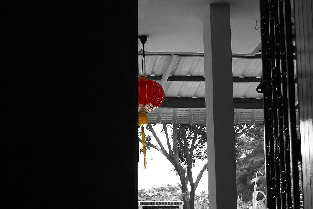 Red Lantern by silverfish