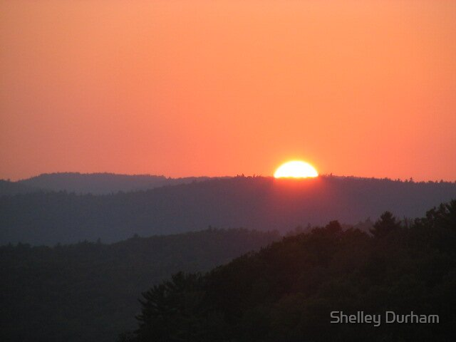 sunset by Shelley Durham