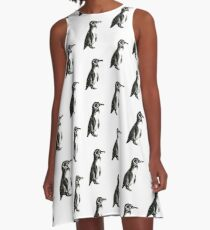 GALAPAGOS PENGUIN A-Line Dress