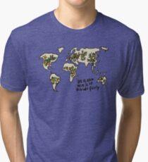 Let it grow, Mix it up, Divide Fairly Tri-blend T-Shirt