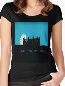 Castle on the Hill - Ed Sheeran Women's Fitted Scoop T-Shirt