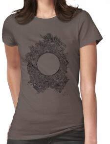 The void Womens Fitted T-Shirt