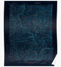 USGS TOPO Map Colorado CO Garfield 402799 1945 62500 Inverted Poster