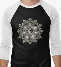 Anahata Seven Chakra Flower Mandala T-Shirt
