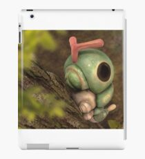 Caterpie on a tree iPad Case/Skin