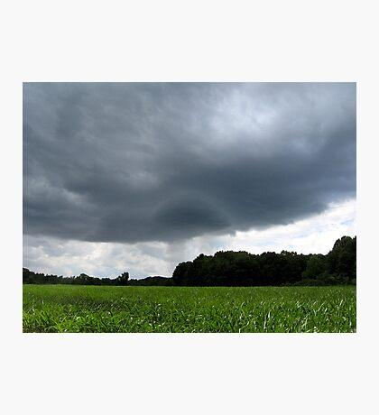Pregnant Sky Photographic Print