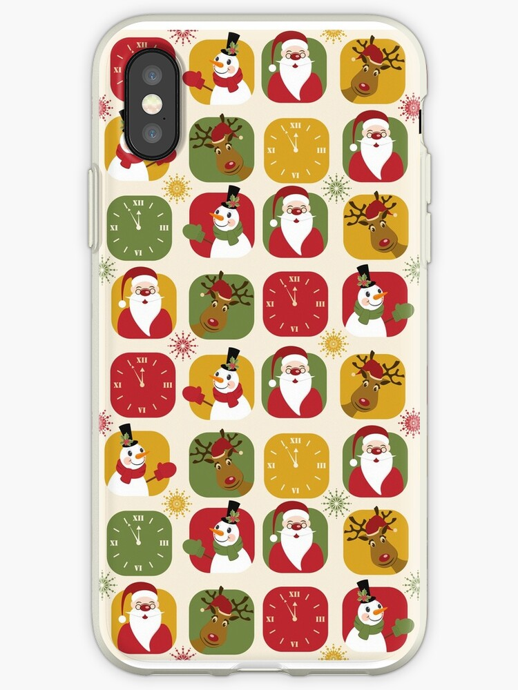 Christmas Countdown Pattern by Sol Noir Studios