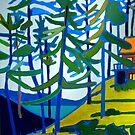 Honeymoon Lake Cottage by brettonarts