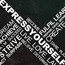 Express Yourself - Typography by Styl0