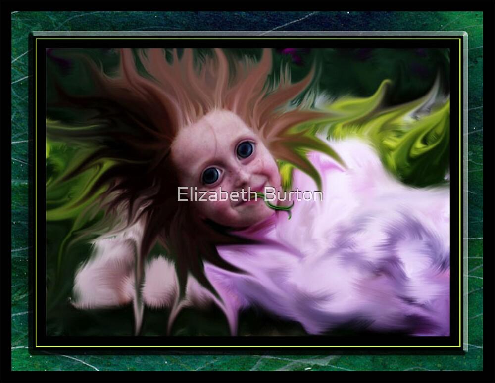 Eye Popping Tongue Flicking Crazy Hair by Elizabeth Burton