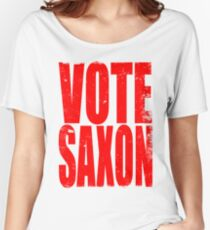 Vote Saxon Women's Relaxed Fit T-Shirt