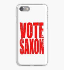 Vote Saxon iPhone Case/Skin