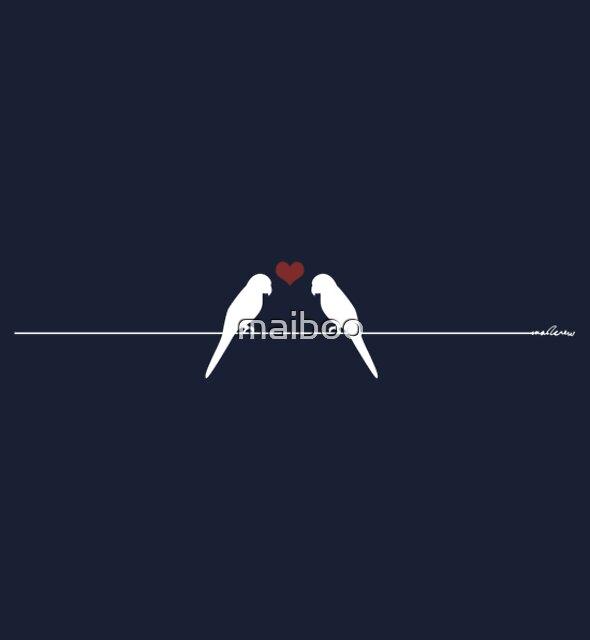 love birds by maiboo