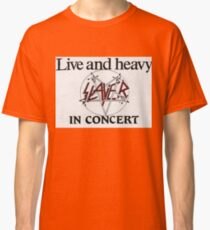 Live and Heavy Classic T-Shirt