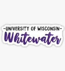 University of Wisconsin - Whitewater Sticker