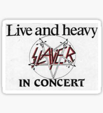 Live and Heavy Sticker